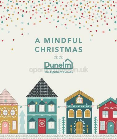 Dunelm Christmas Look Book