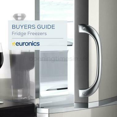 Euronics Fridge Freezers Buyers Guide