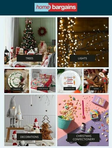 Home Bargains Christmas