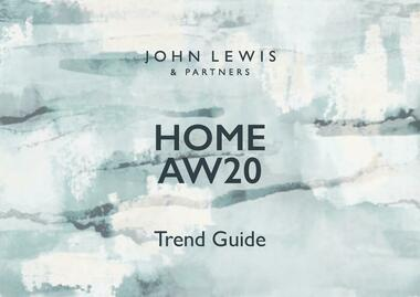 John Lewis Home Trend Guide