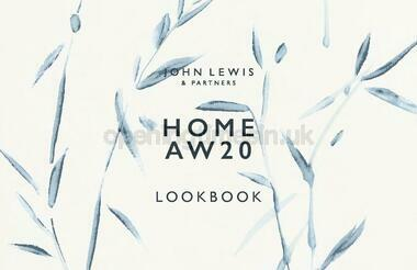 John Lewis Home AW20 Look Book