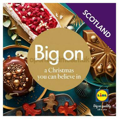 LIDL Christmas Magazine Scotland
