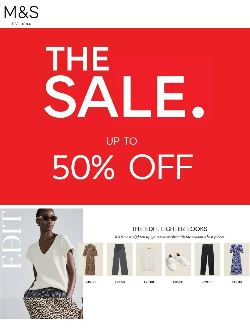 Marks & Spencer Offers & Special Buys