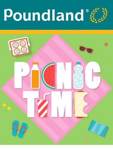 Poundland Pack the perfect picnic!