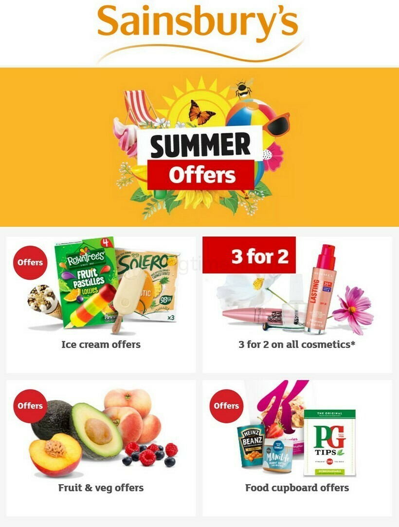 Sainsbury's Offers & Special Buys