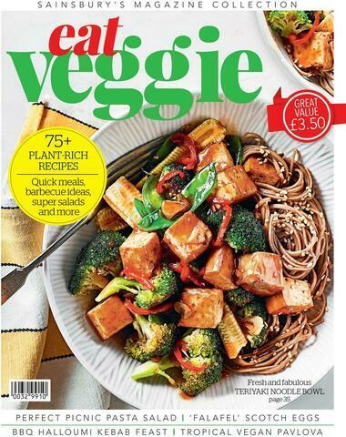 Sainsbury's Eat Veggie Magazine