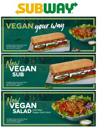 SUBWAY Vegan