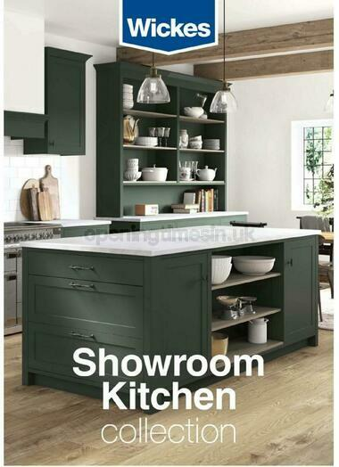Wickes Showroom kitchens brochure