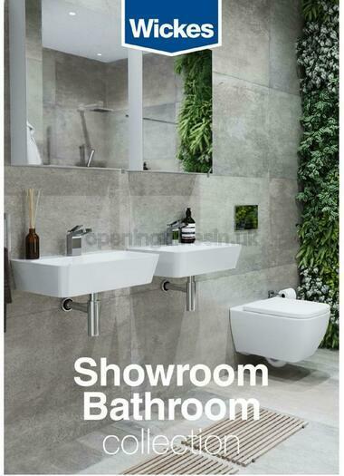 Wickes Showroom bathrooms brochure