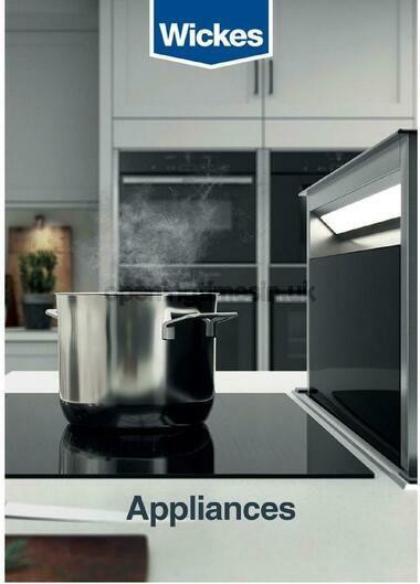 Wickes Kitchen appliances brochure