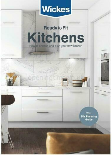 Wickes Ready to Fit kitchens brochure